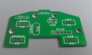 Component (top) side of the board