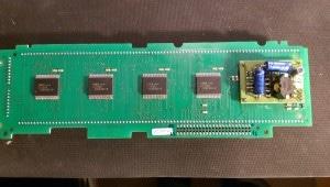 VFD module, back side